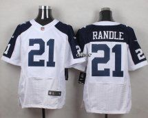 Dallas Cowboys #21 Joseph Randle White Thanksgiving Throwback Me
