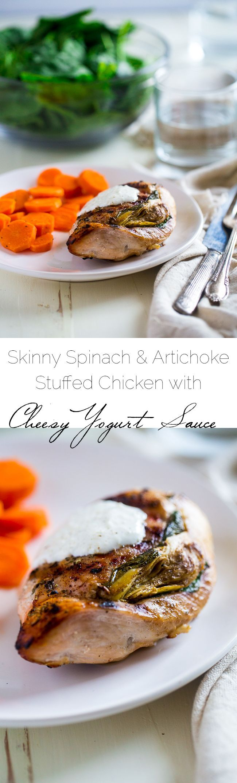 With greek artichokes chicken