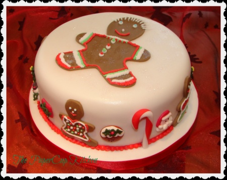 Chritsmas Cakes - The PaperCup Kitchen