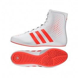Adidas KO Legend 16.2 Boxing Boot - White/Red