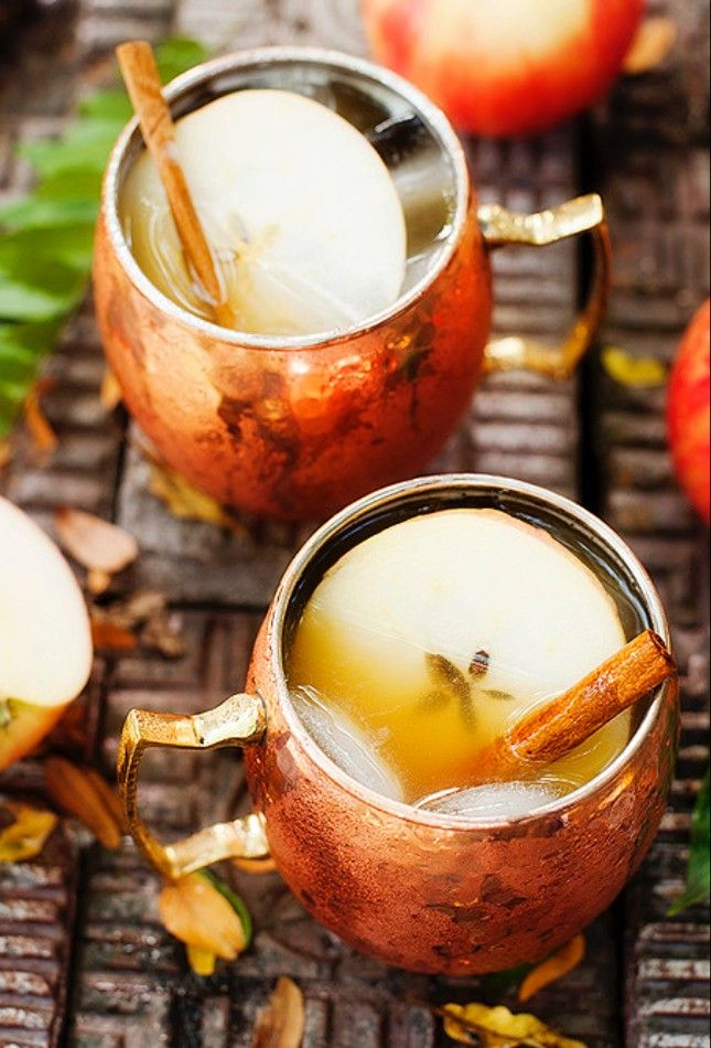 Apple Cider Moscow Mules. Mmmm.