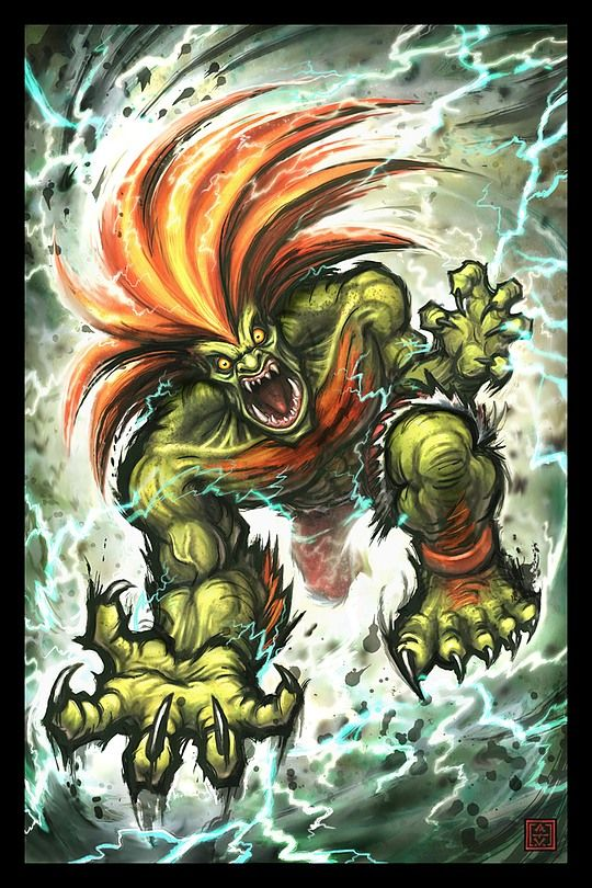 Blanka - Street Fighter - Adam Vehige