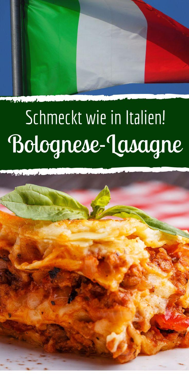 Leckere Bolognese Lasagne