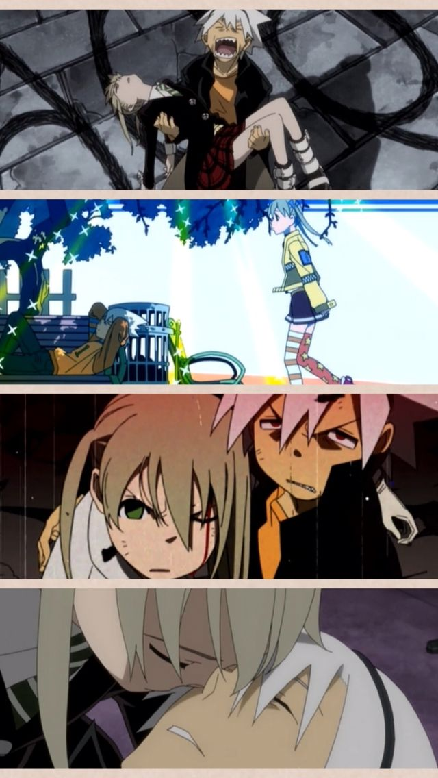 Soul X Maka, yet during those times nothing got through to them..