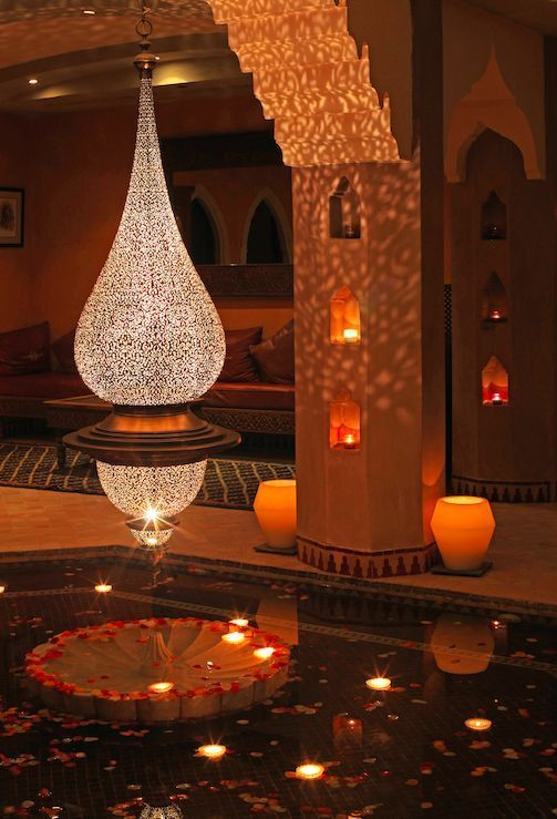 """""""Spend a night in the beautiful Hotel La Maison Árabe in Marrakech, Morocco"""""""