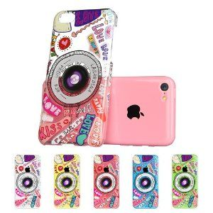 cute phone cases for iphone 5c esr fancy series clear back cover with 18368