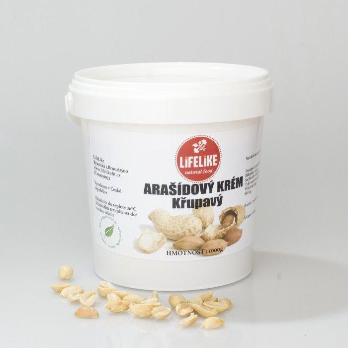 Arašídový krém křupavý 1 kg