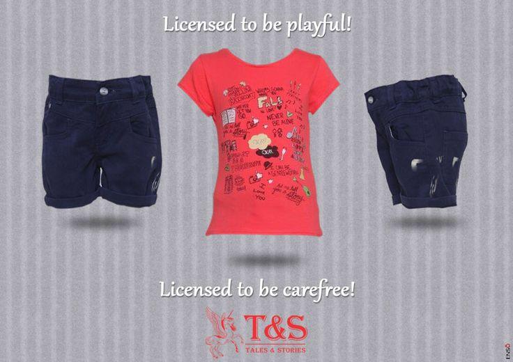 Let them be carefree #kidswear #talesandstories