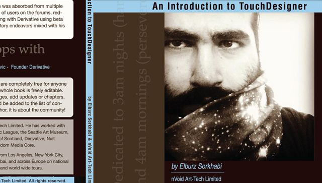 Book: An Introduction to TouchDesigner by Elburz Sorkhabi
