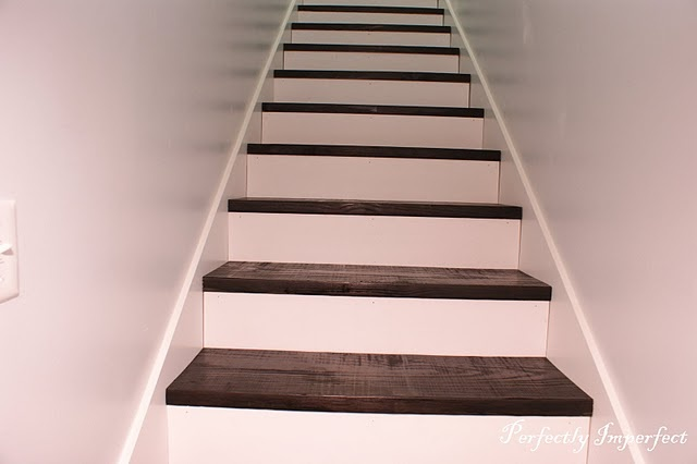 DIY for stairs like these.