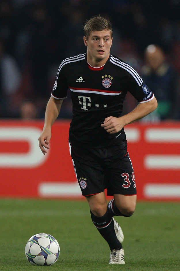 """And Toni Kroos's casually """"I look perfect even though I'm running very fast"""" game. 