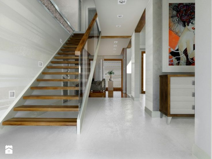 Schody - Styl Glamour - DOKTOR HOUSE DESIGN