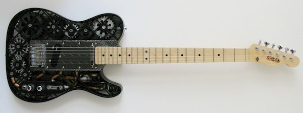 ODD Makes 3D-Printed Guitar Bodies for $3,500... - Digital Music News
