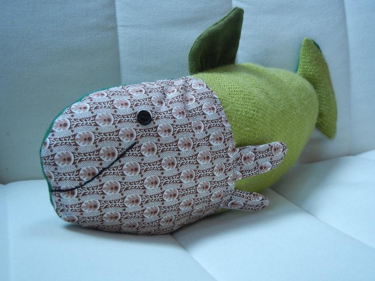sewed fish vintage-fabric