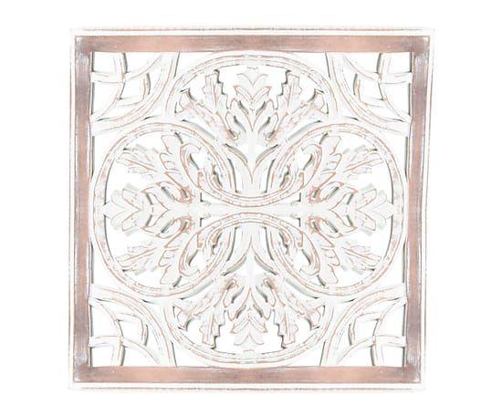 decoracin de pared en madera y cristal x cm