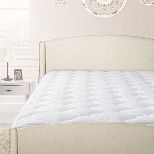 quilted polysoft pillow top mattress pad mattress toppers with easyfit skirt twin luxury in the bedroom starts with our