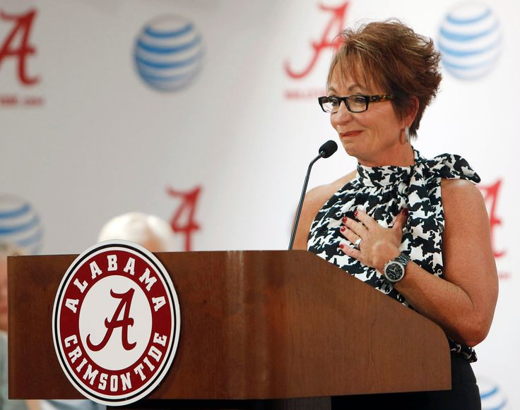 The Alabama women's gymnastics coach Sarah Patterson, who was hired by Bear Bryant in 1978 and won six national titles, is retiring because of two coming knee replacements.