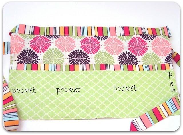 Tutorial: Utility apron sewing pattern