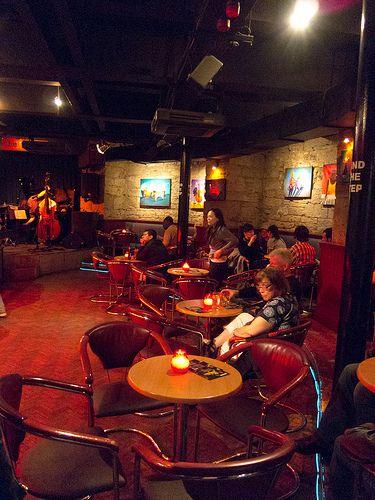Jazz Bar, Chambers Street. The Jazz Bar was voted Scotland's 'Jazz Venue of the Year' at the Scottish Jazz Awards, Glasgow Jazz Festival 2009.