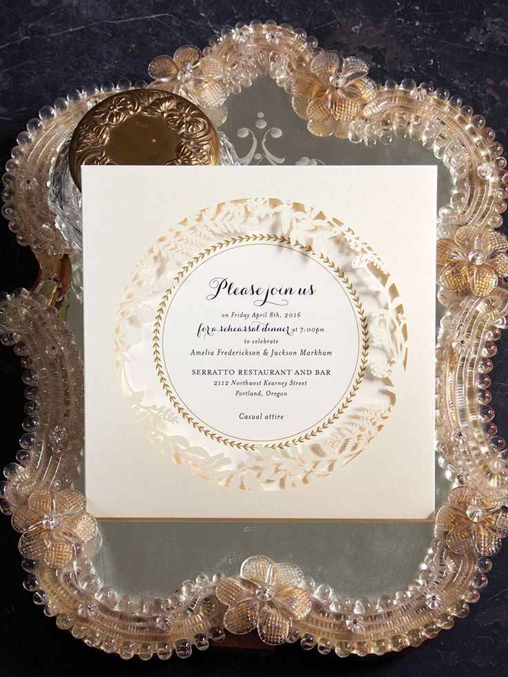 how to emboss wedding invitations diy%0A Anna Griffin      invitation collection