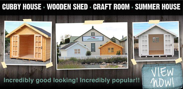 wooden garden sheds, kitset sheds nz