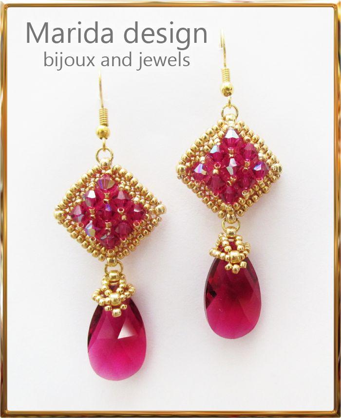 """""""Roxanne"""" earrings"""