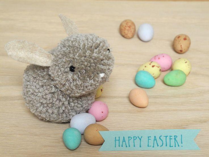 http://thecraftsdept.marthastewart.com/2013/03/pom-pom-bunnies.html