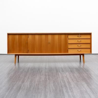 Vintage Kirschholz Sideboard, 1950er 1
