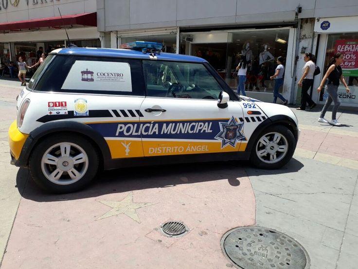 <p>Chihuahua, Chih.- Esta tarde se encuentra el mini copper de la Policía Municipal en la calle libertad el cual está en manos del Distrito Ángel