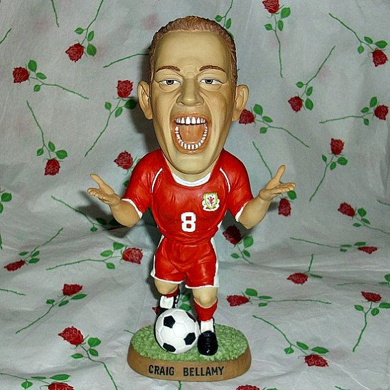 Craig Bellamy Welsh Football Player Sport by WelshGoatVintage