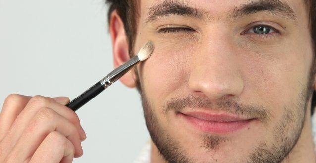 make up voor mannen
