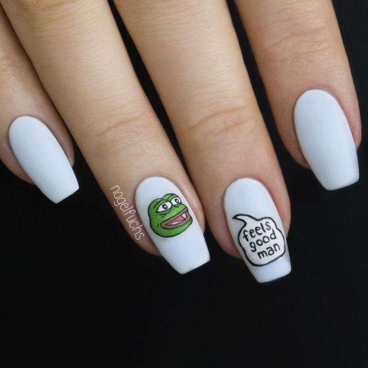 Frog Nail Art: 194 Best My Nail Art Images On Pinterest