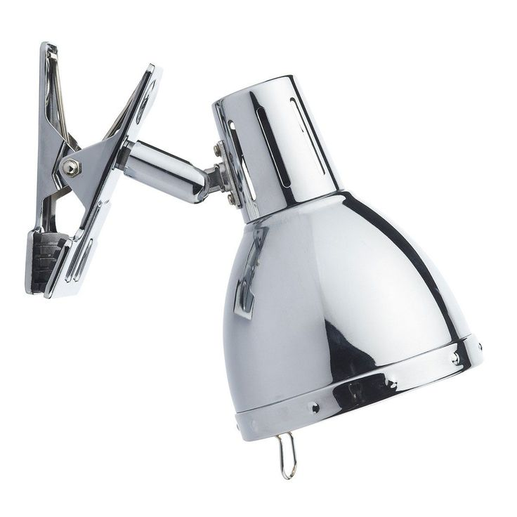 The Dar Osaka Clip On Wall Lamp in Polished Chrome is great for adding illumination exactly where you need it, the Osaka Clip On Spots have a fully adjustable shade and are
