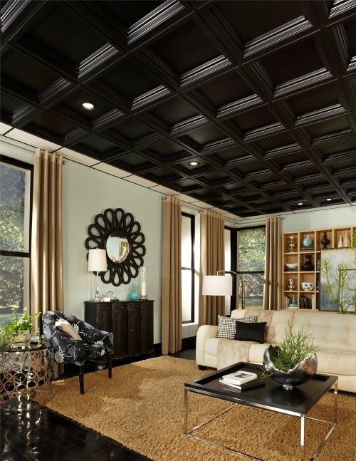 16 Best Images About Decor Coffered Ceilings On Pinterest
