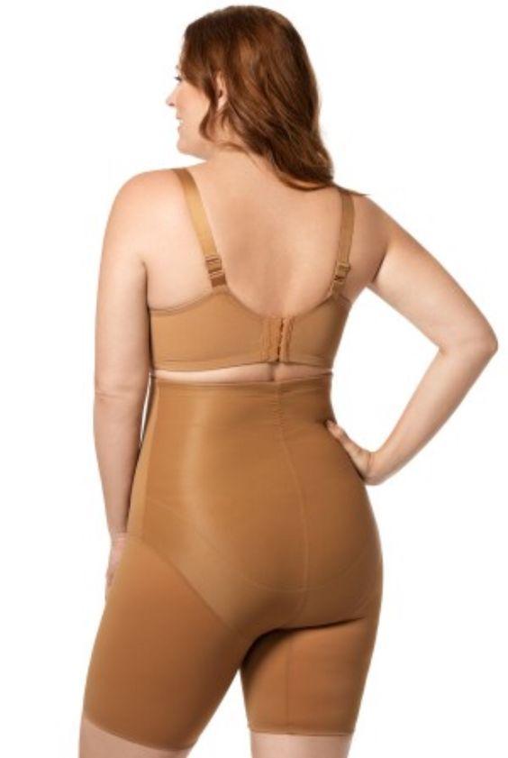 4283fa57715a8 Long leg panty girdle   matching bra