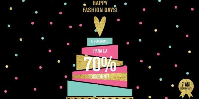 Promotii si reduceri ziua HAPPY FASHIONDAYS 70%