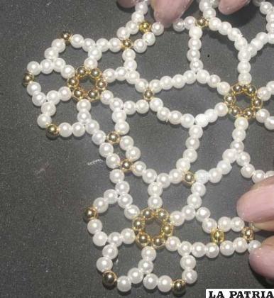 Tapete de perlas
