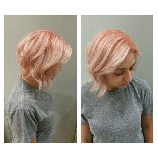 Pink hair  Shadow root  Pastel hair  by Jessica Hook  inside the Glendale Galleria 818.240.5300