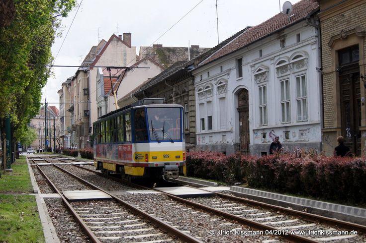 909 Szeged György tér 20.04.2012 - (ČKD) Tatra T6A2