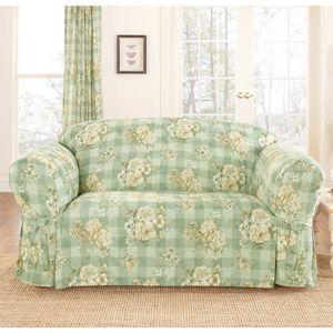Leather Sectional Sofa Surefit Juliet pc Sofa Slipcover Furniture SlipcoversWalmartSofas