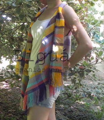 #Chalecos de verano: En Biguá seguimos apostando al color. #Telar