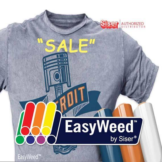"SALE / 12""x 15"" / 1-sheet / Siser EasyWeed - Heat Transfer Vinyl - HTV by OneSourceStore on Etsy"