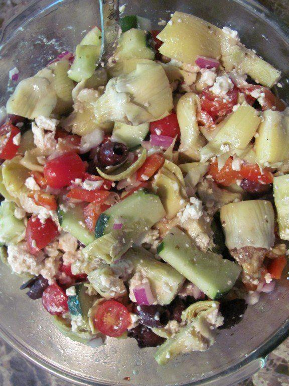 "\""Anti-Pasta\"" Salad | fastPaleo Primal and Paleo Diet Recipes"
