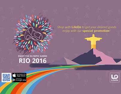 """Check out new work on my @Behance portfolio: """"RIO Olympic Event"""" http://be.net/gallery/41629377/RIO-Olympic-Event"""
