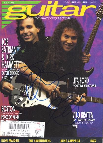 Pic from a older magasin,Kirk & Joe