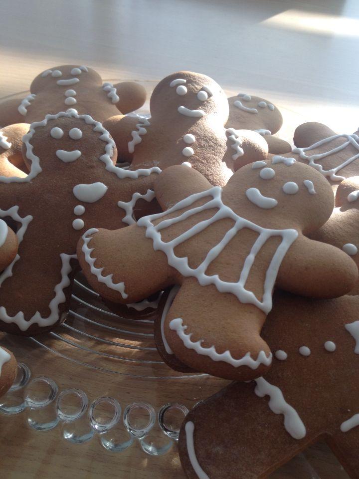 Gingerbread Men  Yummy