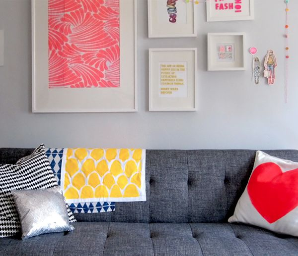 Katie Rodgers of Paperfashion's work space