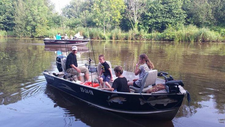 15-8-2015: Clinic roofvissen met @visgidsgroningen en vismeesters van HSF Groningen-Drenthe