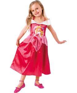 Disney Princess Sleeping Beauty Dress Up Outfit - 3-4 Years.