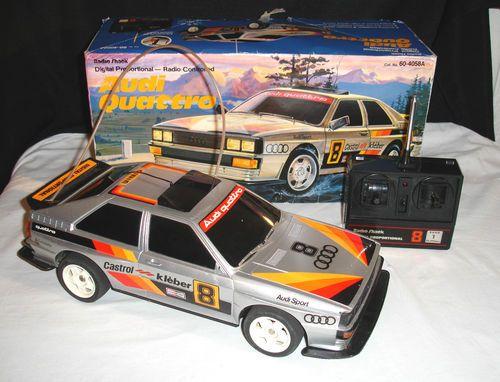 Vintage Audi Quattro Remote Control Rc Car By Radio